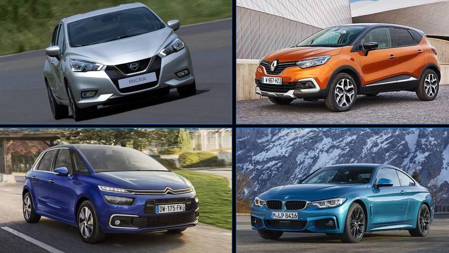 Los 10 coches con motor diésel que menos gastan