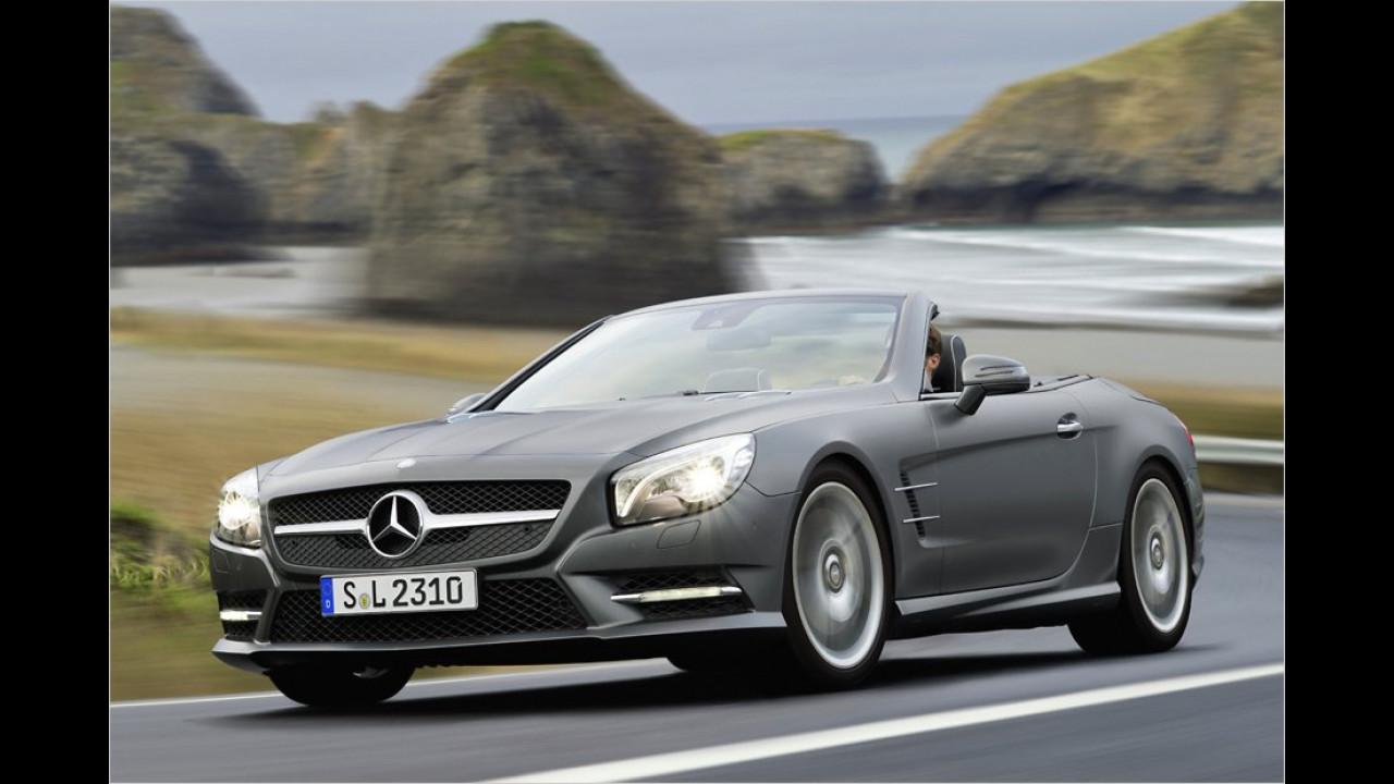 März: Mercedes SL
