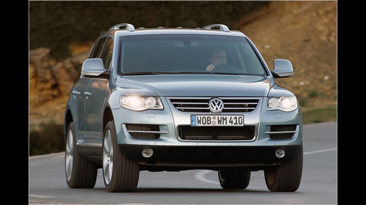Platz 3 Geländewagen: VW Touareg