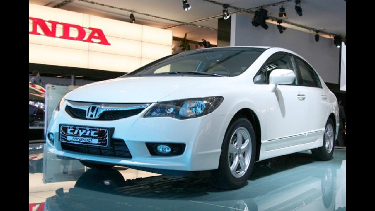 Honda Civic Hybrid Facelift