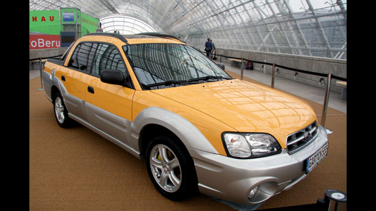 Subaru Baja Pick-up (2003) von Rosi Mittermaier