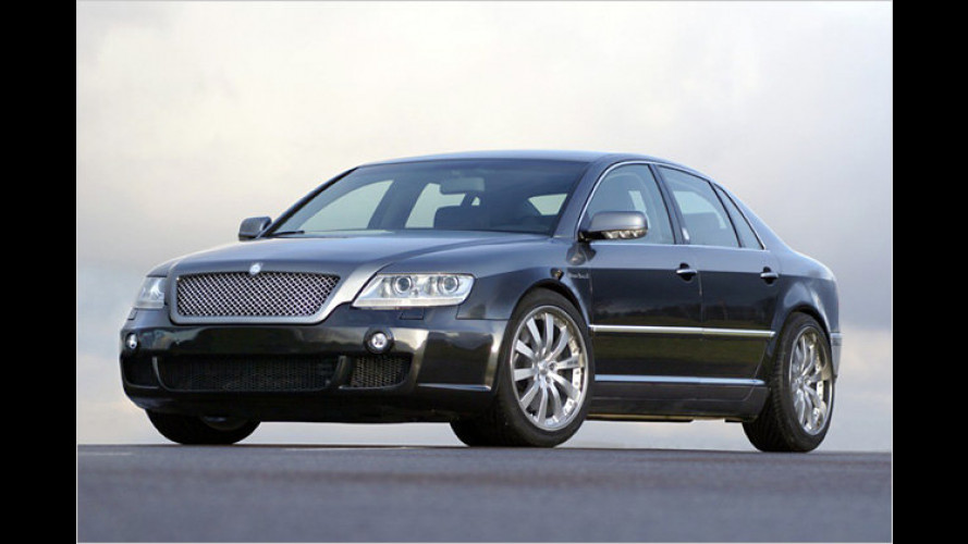 Hofele Mythos: Neue Limousine auf Phaeton-Basis