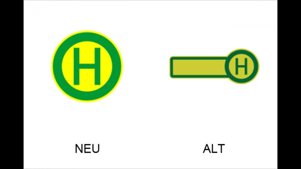 Haltestellen Straßenbahnen oder Linienbusse