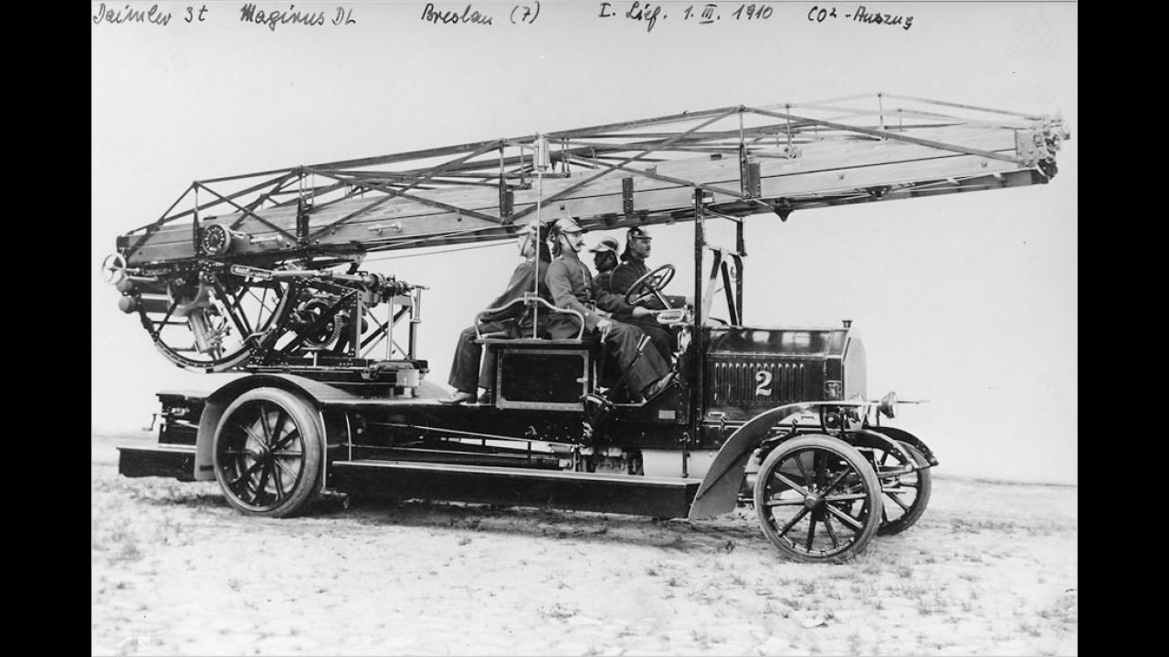 Daimler-Magirus-Drehleiter (1910)