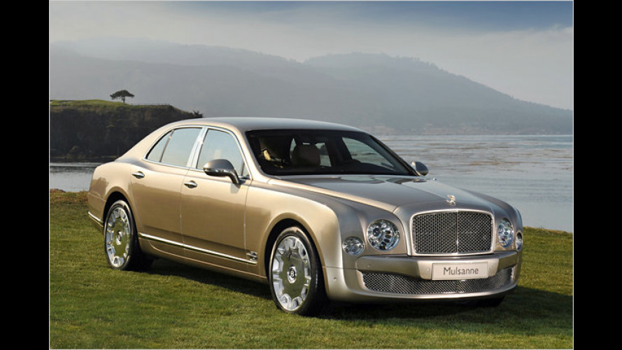 In bester Tradition: Bentley zeigt den neuen Mulsanne