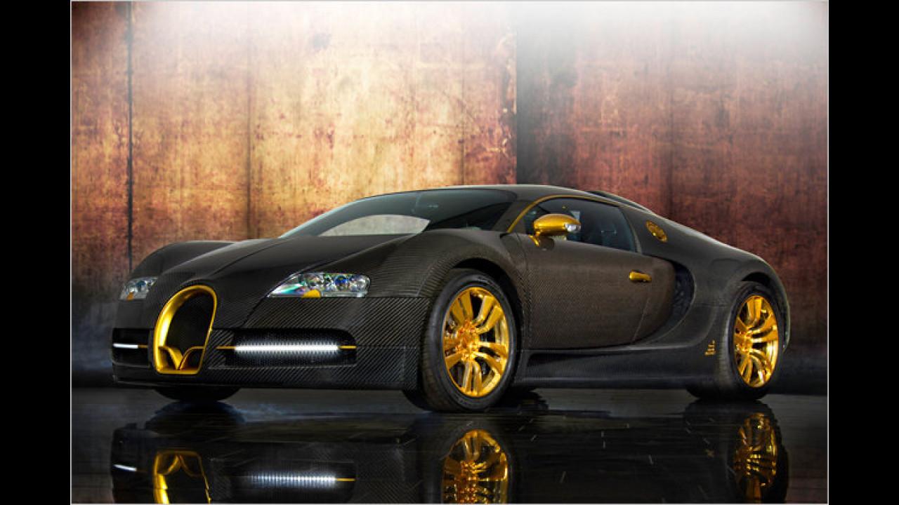 Bugatti Veyron Linea Vincerò d'Oro