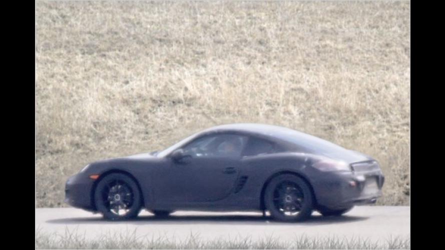 Endlich erwischt: Der neue Porsche Cayman auf Testfahrt