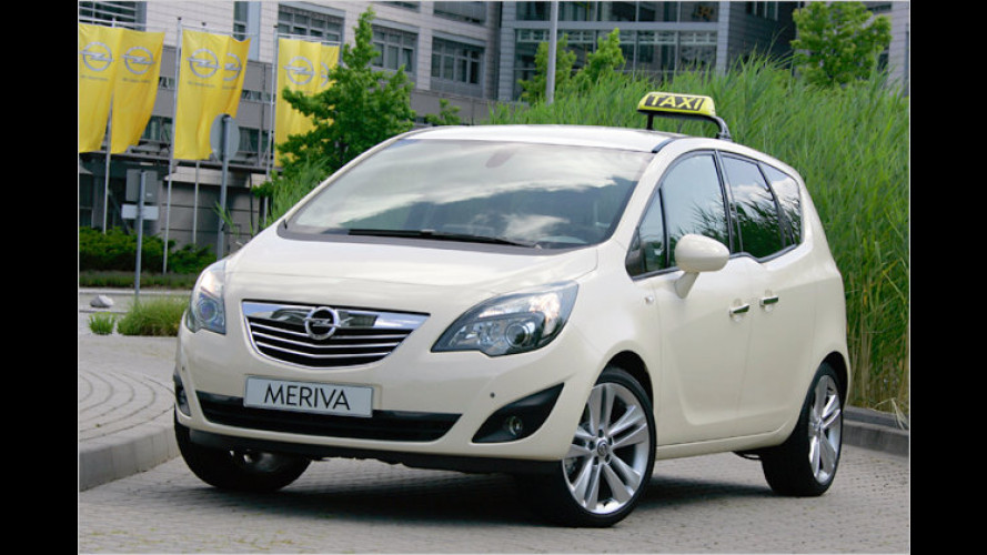 Taxi- tauglich: Opel Meriva mit AGR-Gütesiegel