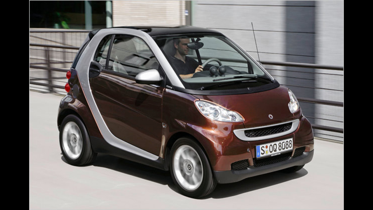 smart fortwo coupé 0.8 cdi pure softip