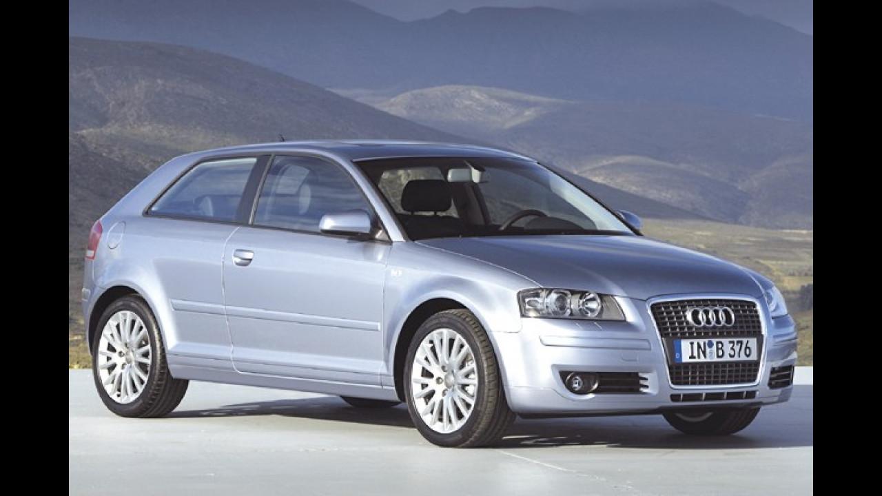 1. Platz: Audi A3 1.6 Attraction
