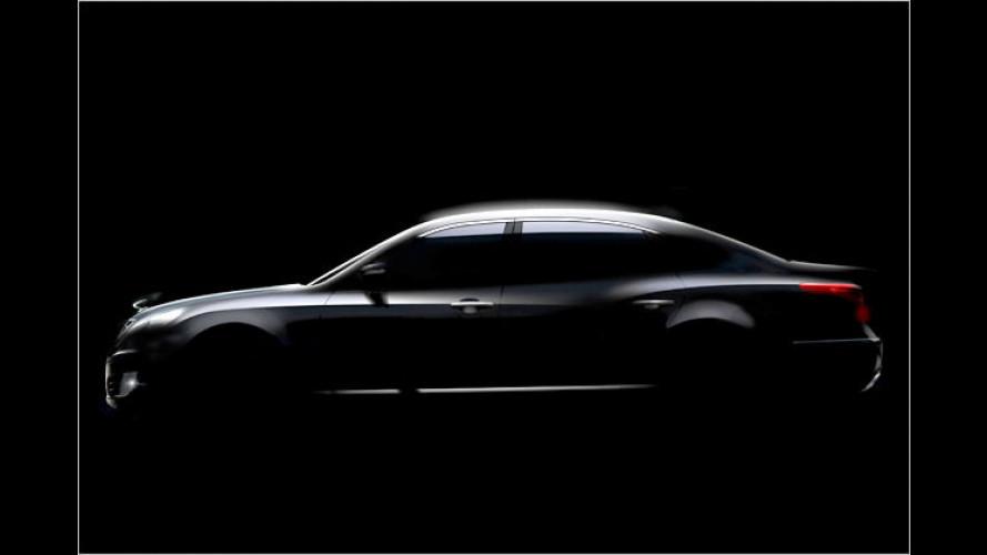 Hyundai VI: S-Klasse auf koreanisch
