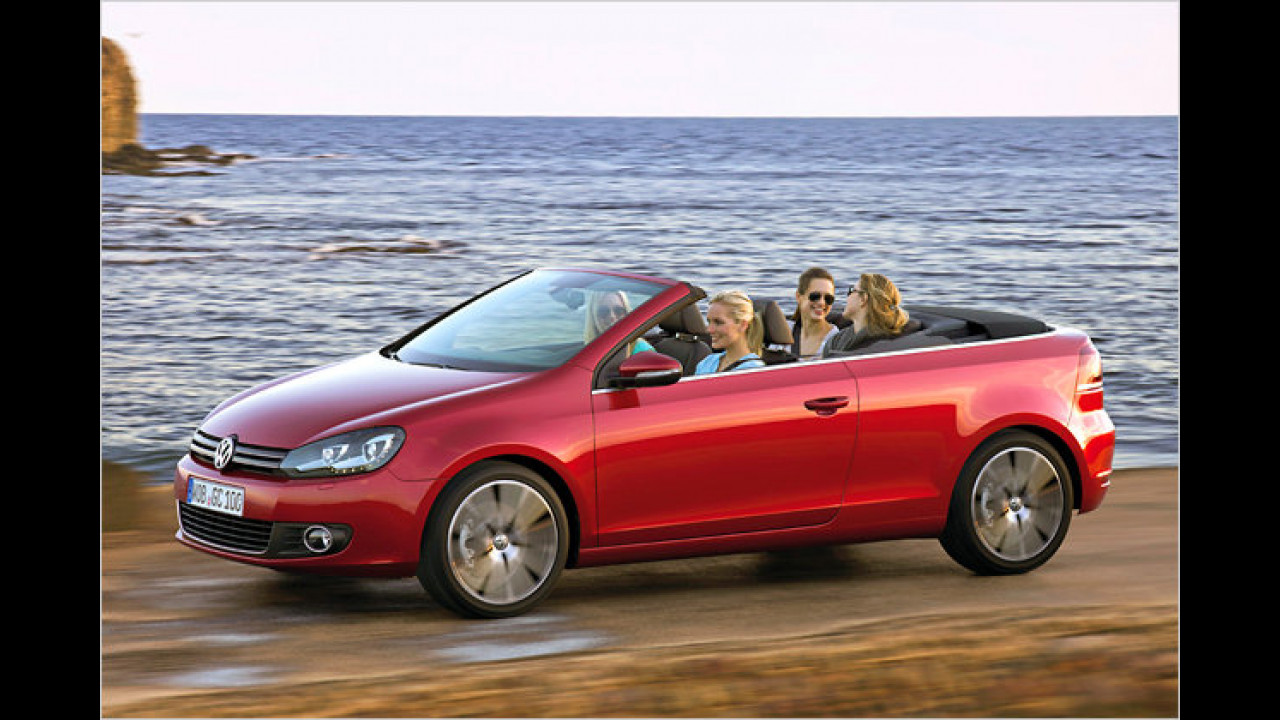 VW Golf Cabriolet 1.2 TSI BlueMotion Technology