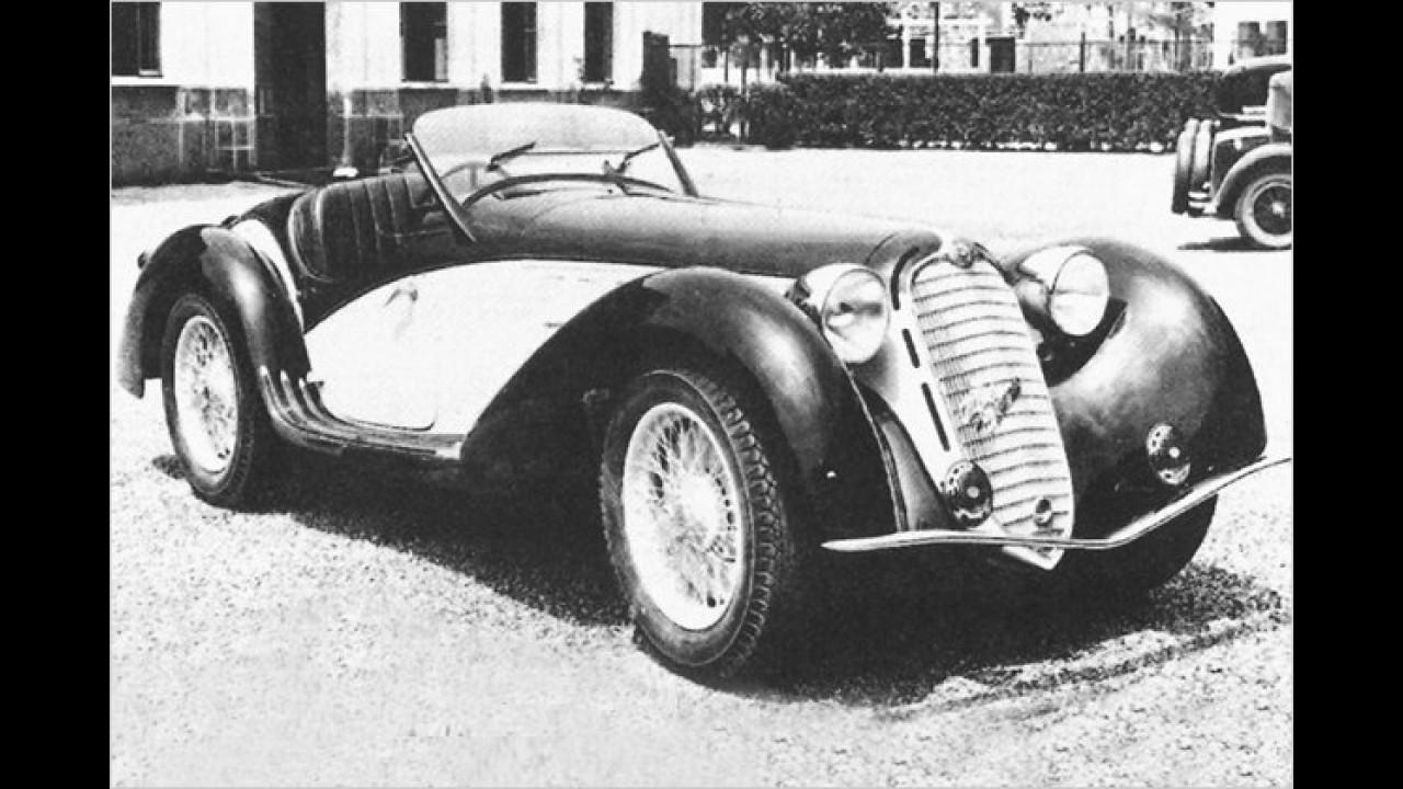 1. Platz: Alfa Romeo 8C