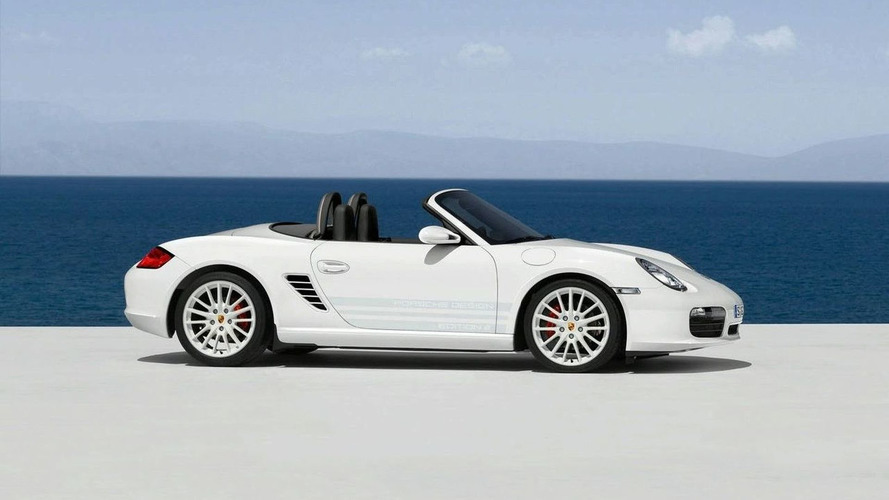 OFFICIAL: Boxster S Porsche Design Edition 2 and the Cayman S Sport Revealed