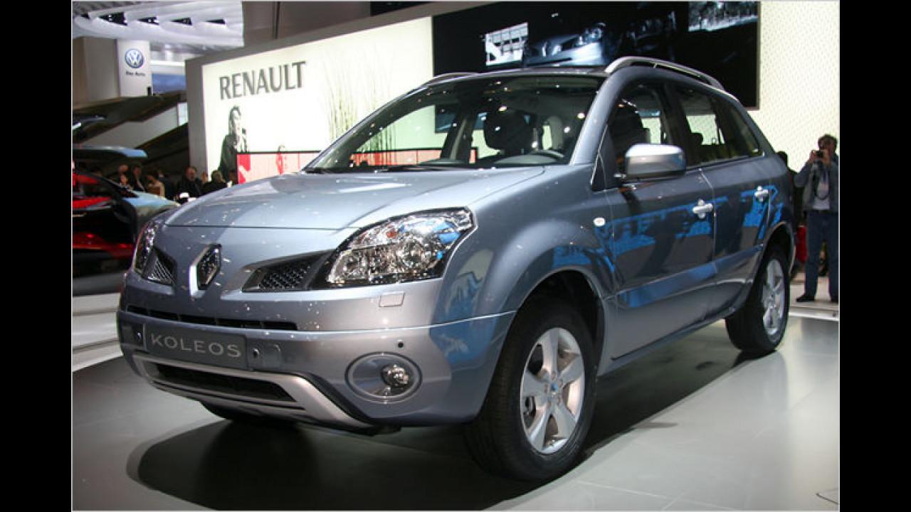 Renault Koleos: Das erste SUV der französischen Marke ist ein verkürzter Nissan X-Trail