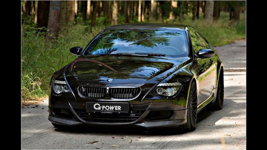 G-Power BMW M6 mit 800 PS: Schnellstes viersitziges Coupé