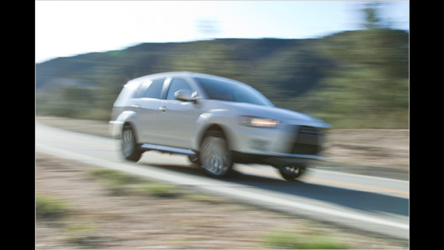 Mitsubishi Outlander GT feiert in New York Weltpremiere