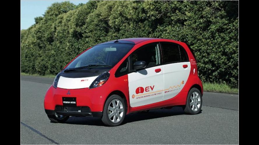 """Mitsubishi stellt ,i-EV""""-Elektroautos in Japan vor"""