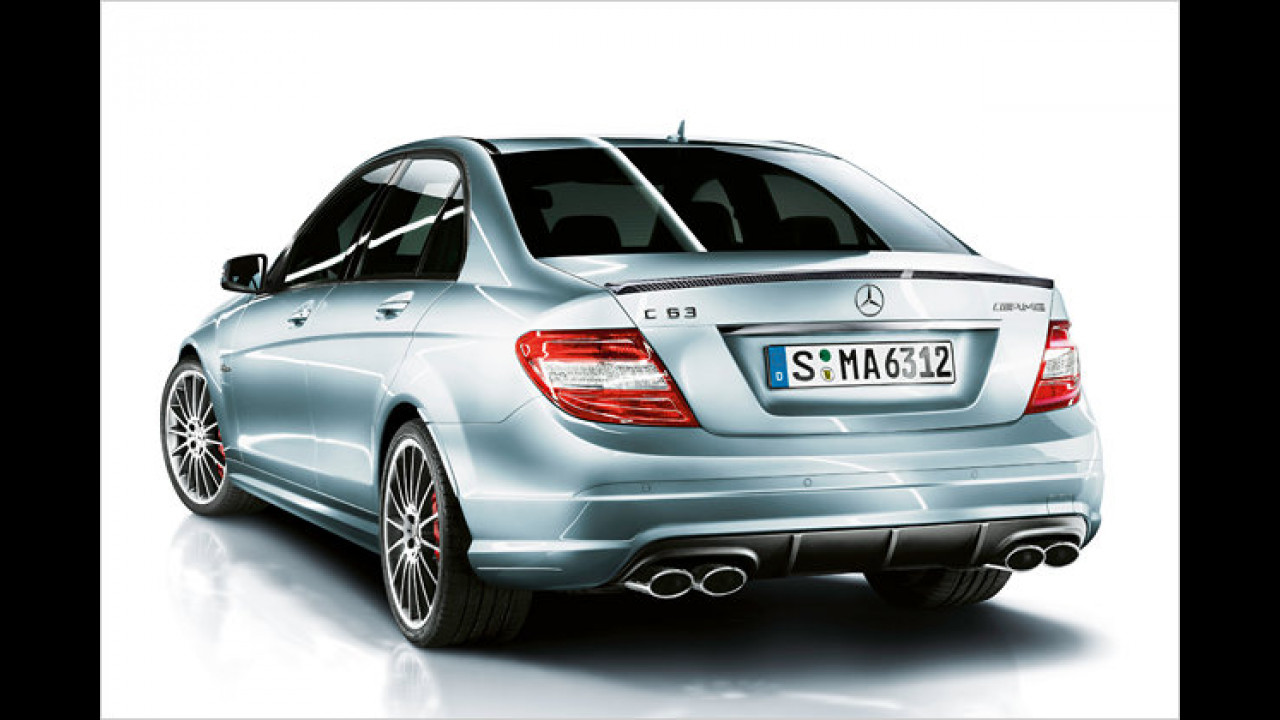 C 63 AMG: Mehr Power
