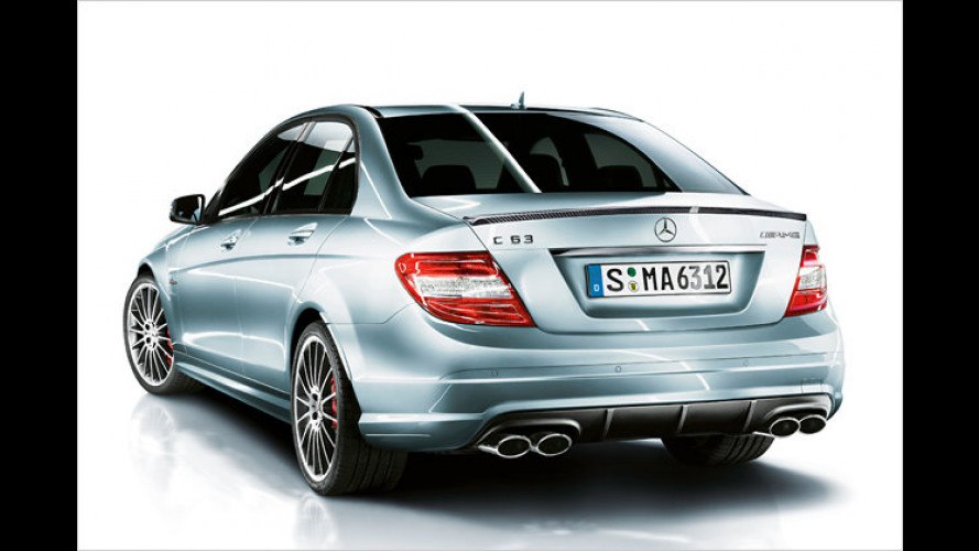Performance Package Plus: Mehr Power für den C 63 AMG