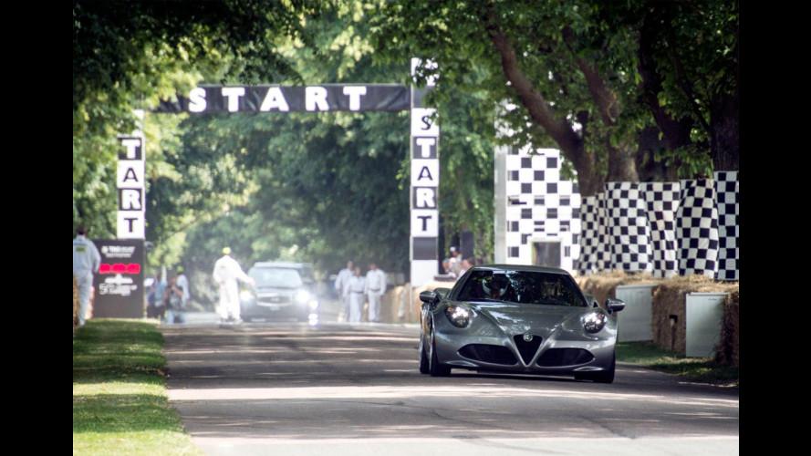 Alfa Romeo 4C, la prima volta su strada