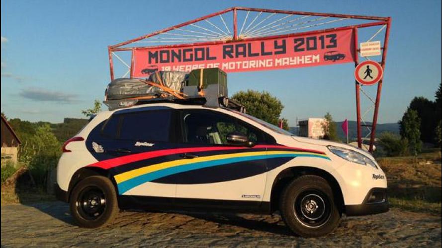 Peugeot 2008 al Mongol Rally 2013