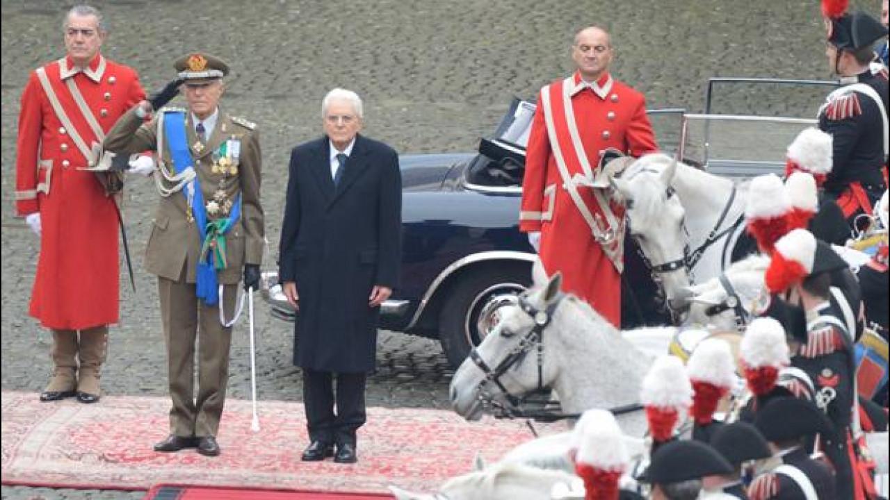 [Copertina] - Presidente Mattarella, la Lancia Flaminia e tutte le auto blu del Quirinale