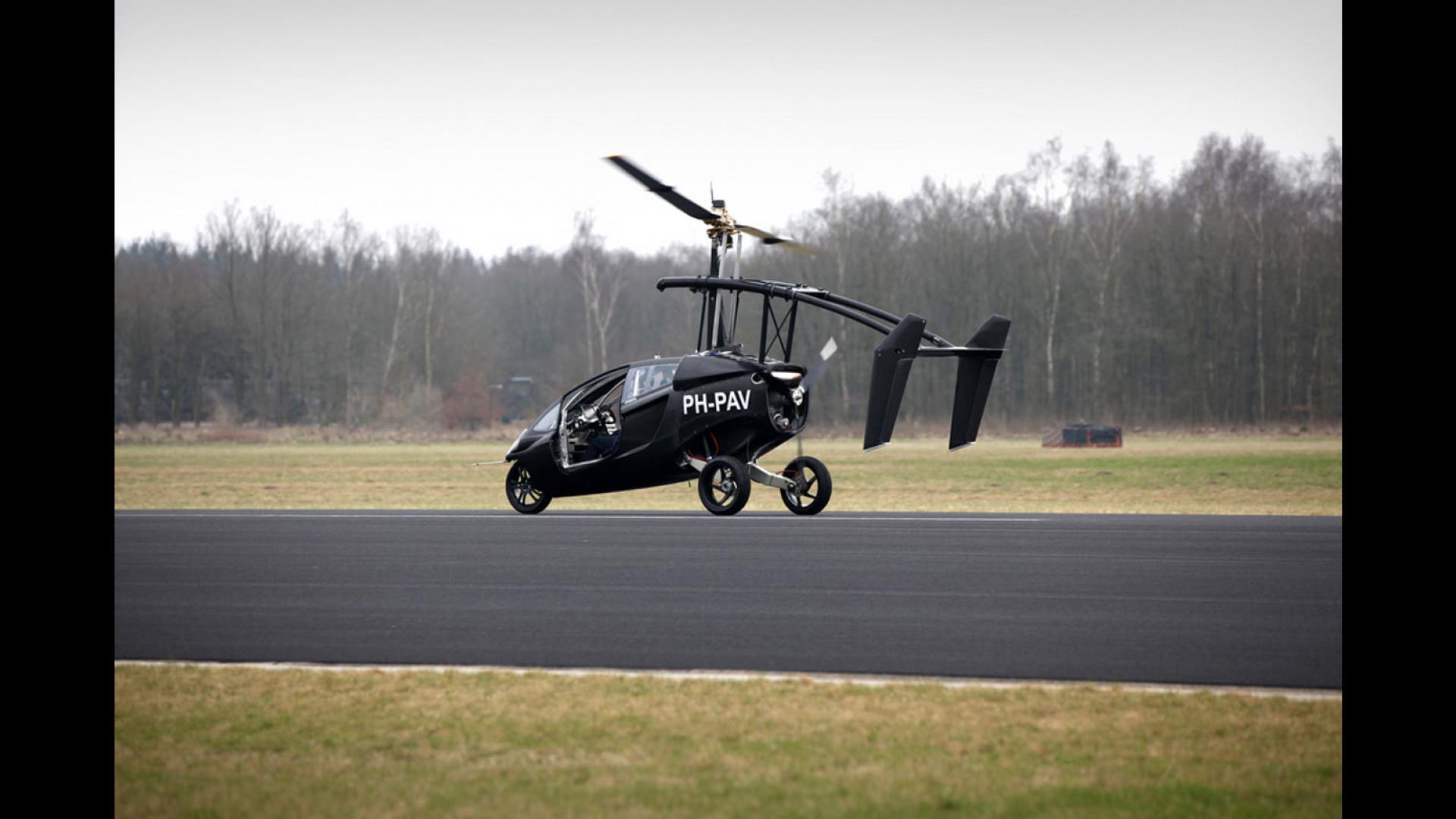 Elicottero 350 : Lauto elicottero si chiama pal v one motor1.com italia