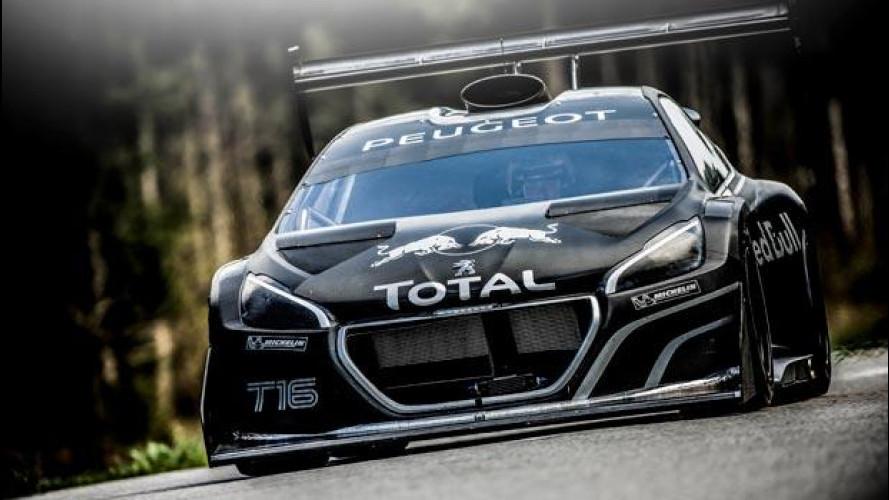 """Sébastien Loeb: """"La Peugeot 208 T16 Pikes Peak è un razzo"""" [VIDEO]"""