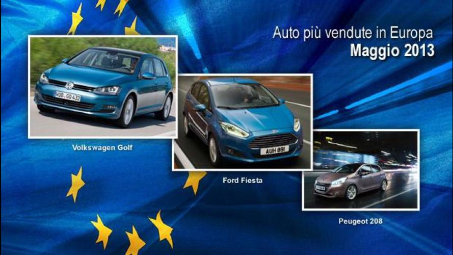 Le auto più vendute in Europa a Maggio 2013