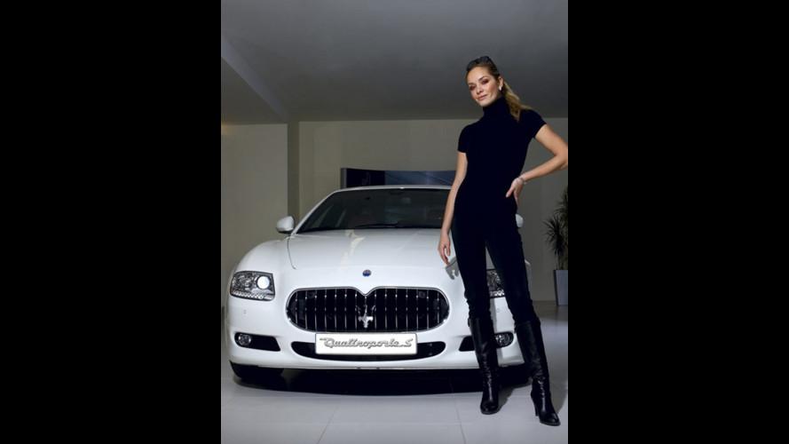Tatana Kucharova sceglie Maserati