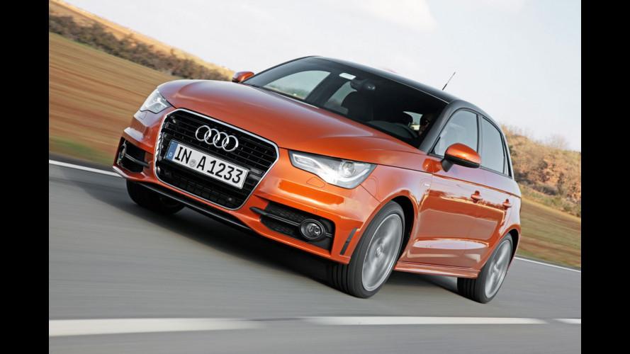 Audi A1 Sportback, per 2 maniglie in più