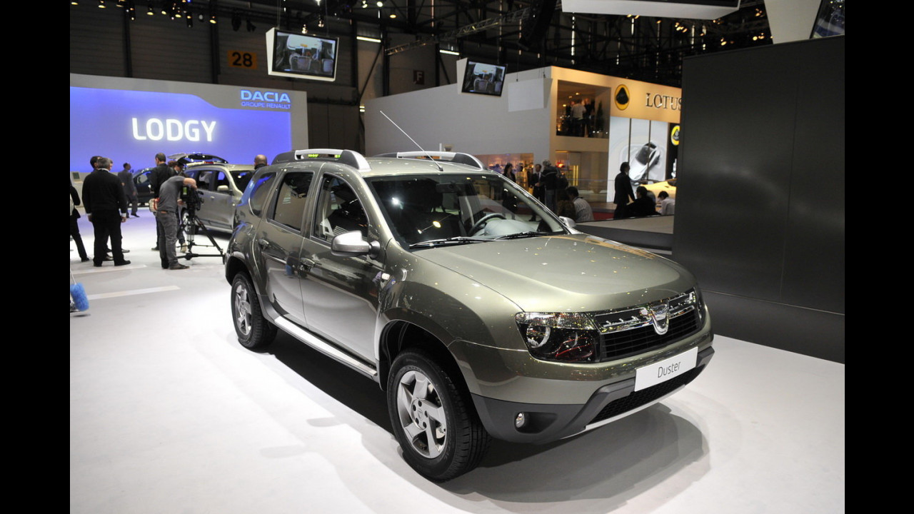Dacia Duster Delsey al Salone di Ginevra 2012