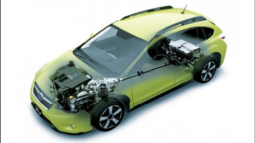 Così la prima Subaru ibrida deriva dal crossover XV