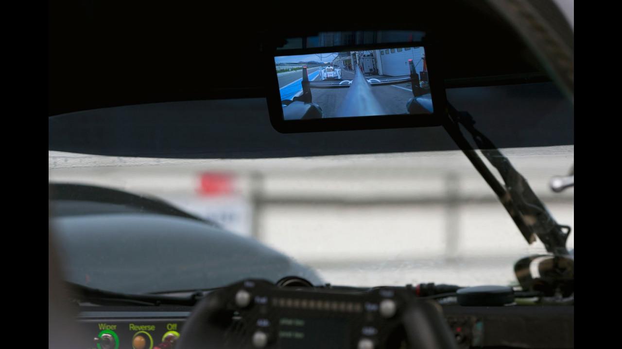 Specchietto digitale Audi R18