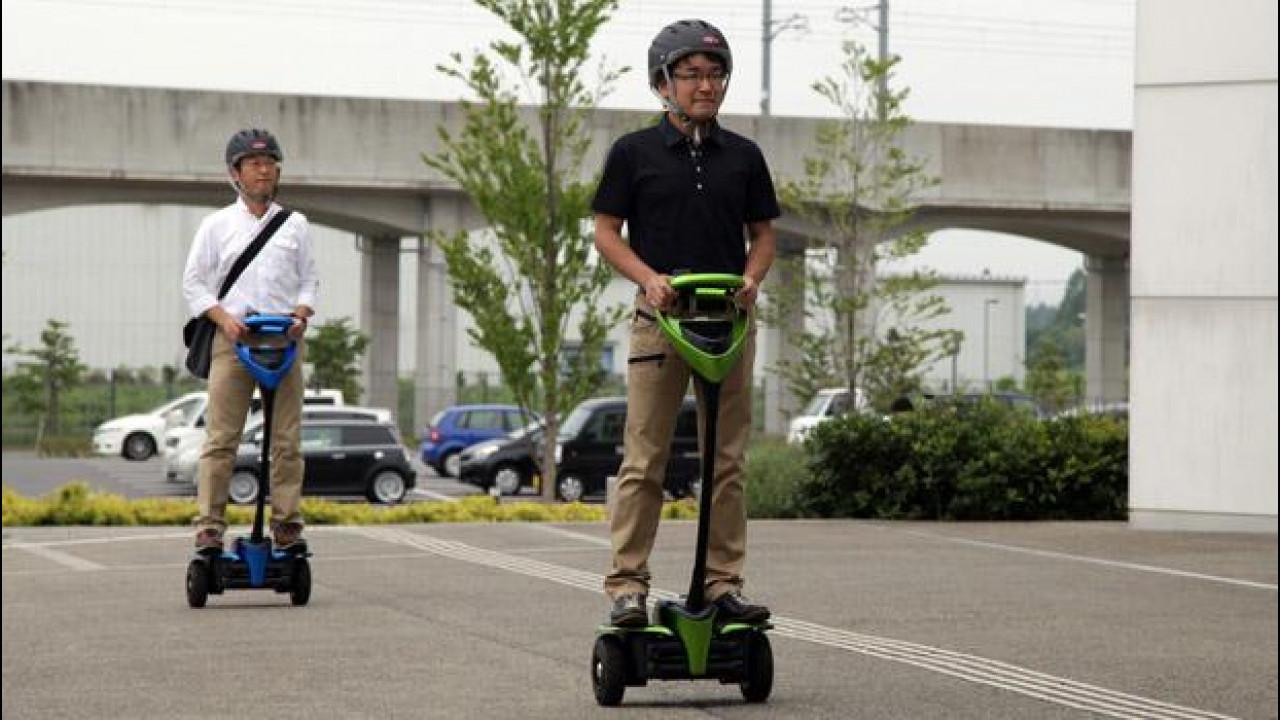 [Copertina] - Toyota punta alla mobilità alternativa urbana con Winglet