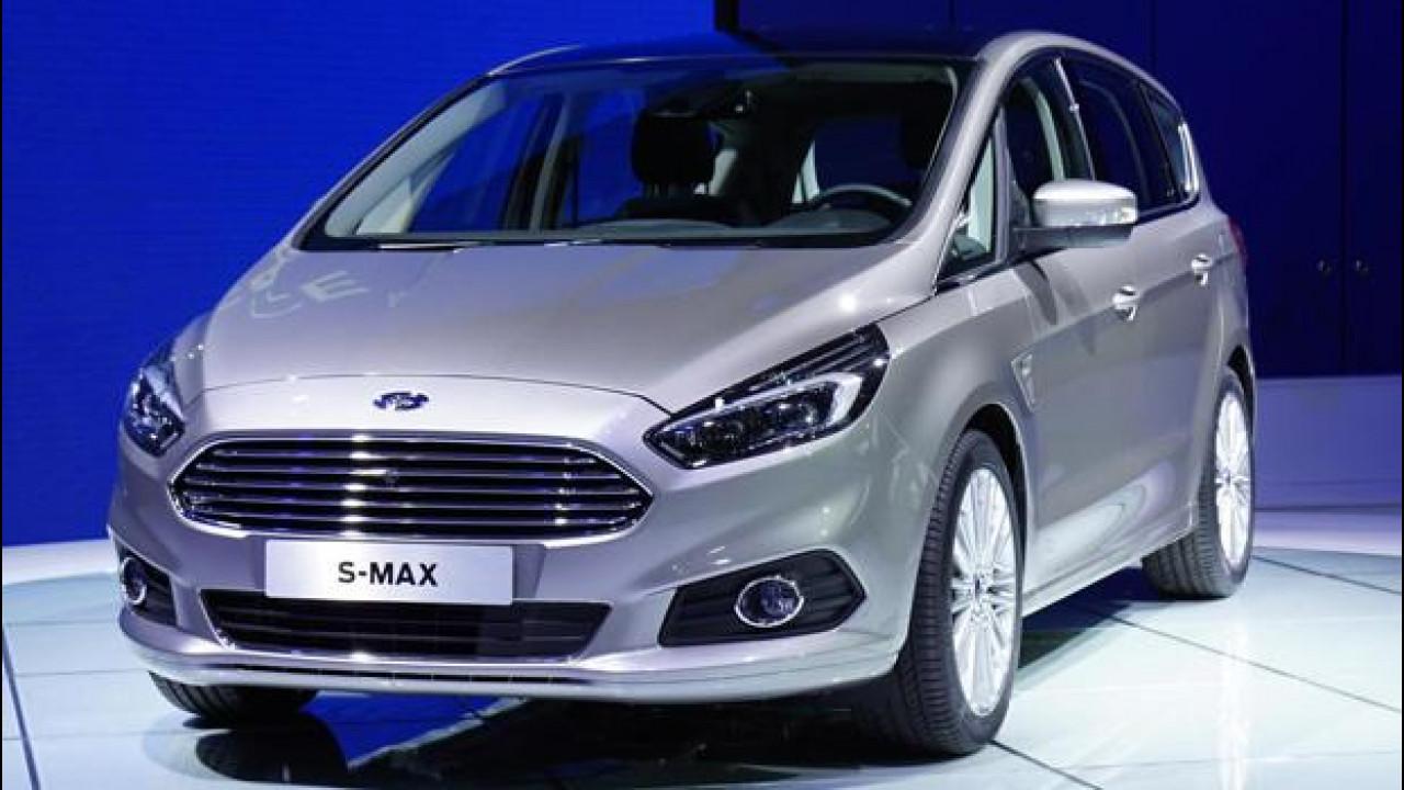 [Copertina] - Salone di Parigi: Ford S-Max, monovolume determinata