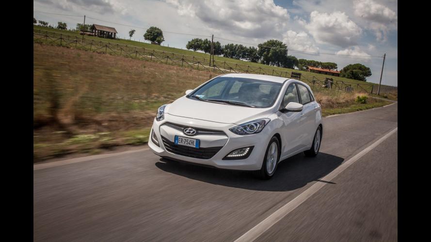Hyundai i30 1.4 Econext, prova su strada della coreana a GPL