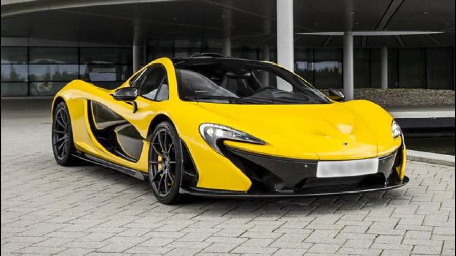 McLaren P1, da 0 a 100 km/h in 2,8 secondi