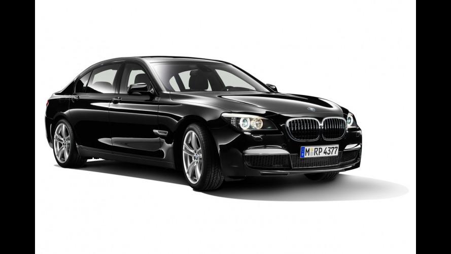 BMW Serie 7 all'attacco