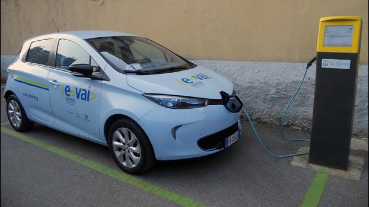 [Copertina] - Car sharing, Renault ZOE entra nella flotta di e-vai