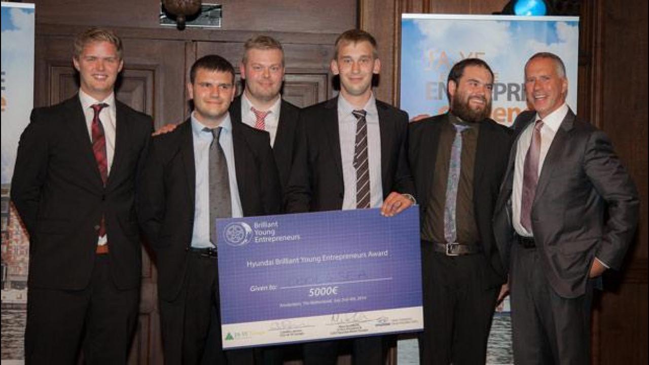 [Copertina] - Hyundai premia i giovani imprenditori europei