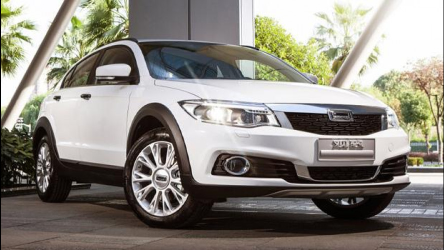 Qoros 3 City, SUV compatto cinese