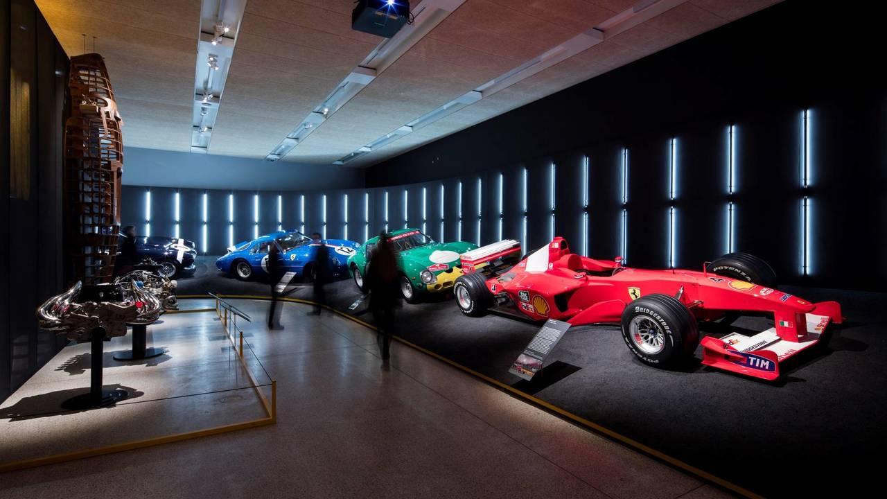 Ferrari Under The Spotlight At New Design Museum Exhibition - Exhibition car