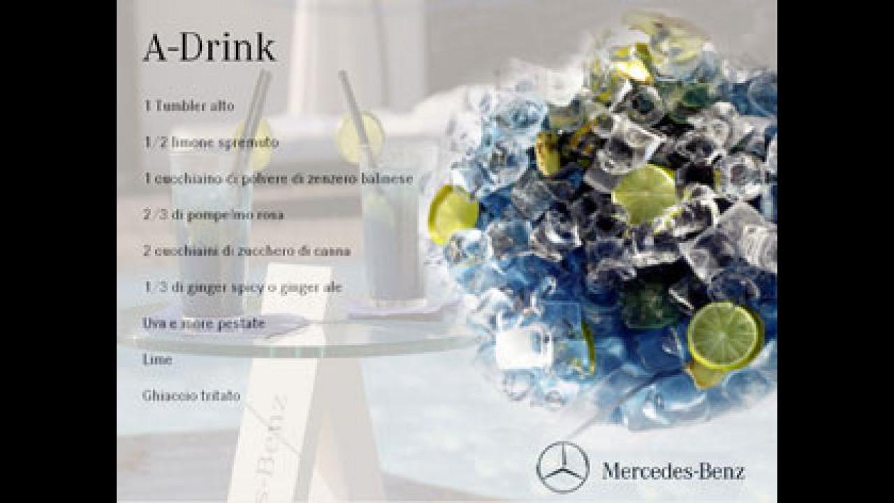 [Copertina] - La nuova Mercedes Classe A si inventa l'A-Drink