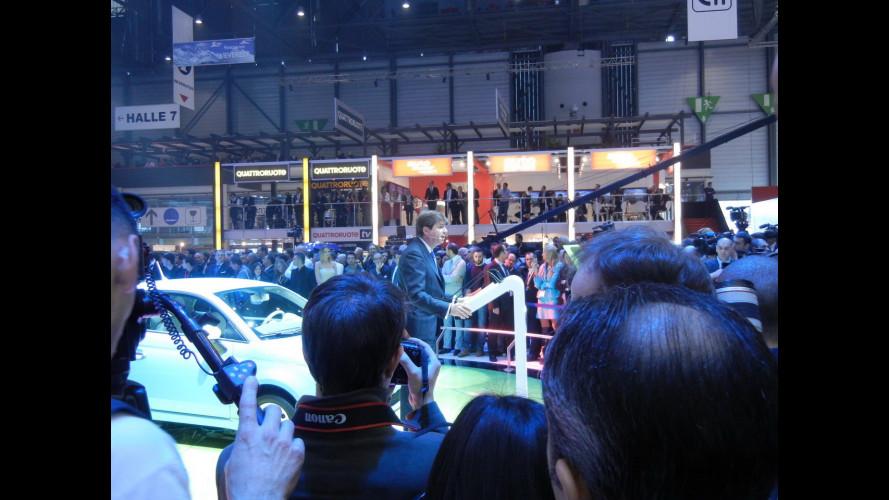 Fiat 500L, debutto col presidente serbo