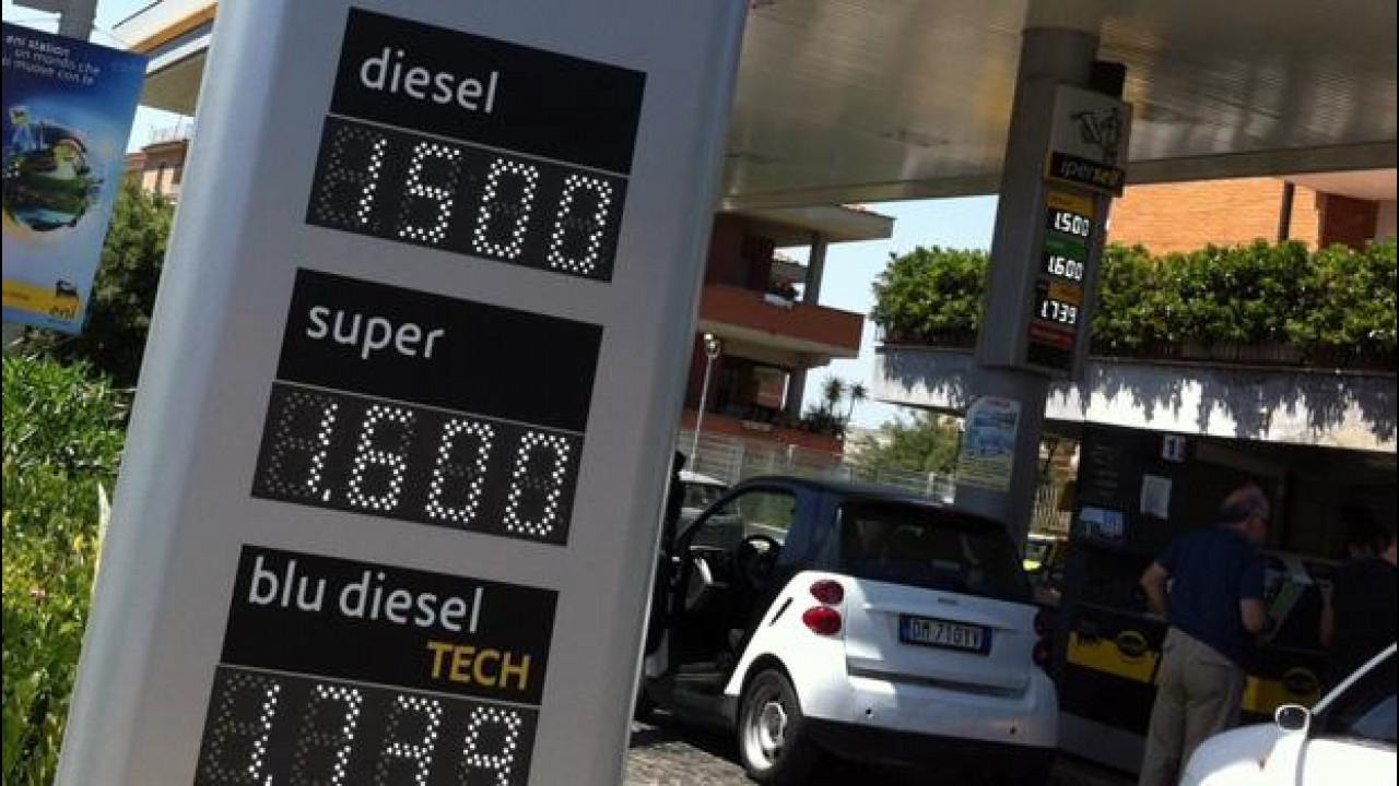 [Copertina] - Prezzi benzina: