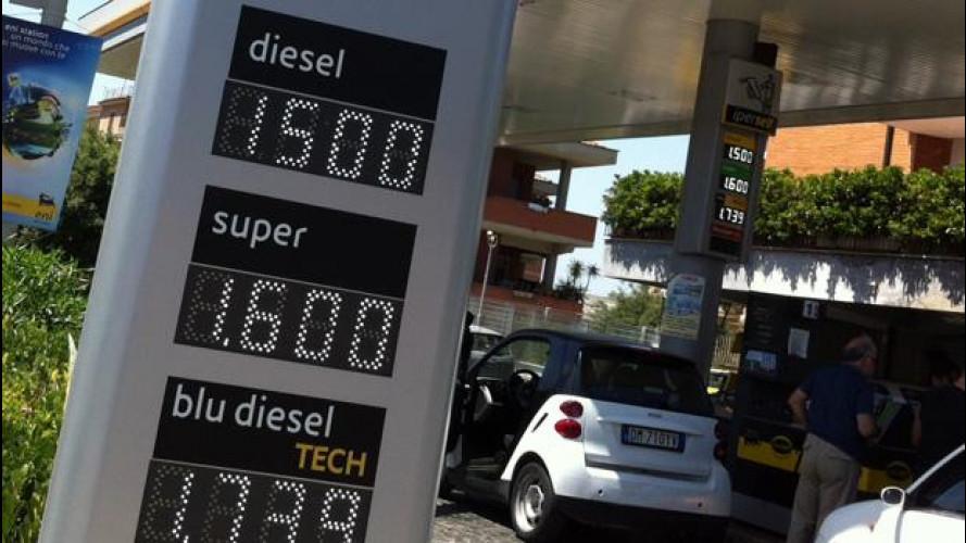 "Prezzi benzina: ""scontoni"" il weekend, stangata il lunedì"