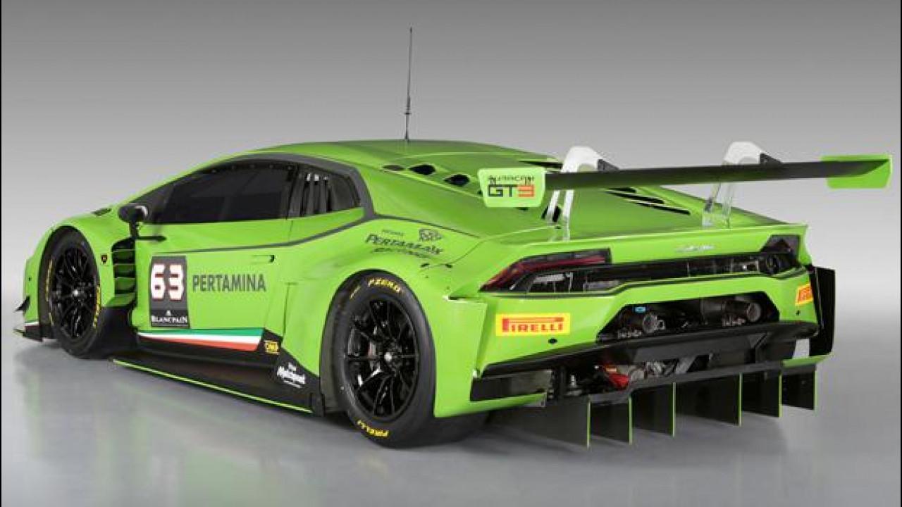 [Copertina] - Lamborghini Huracan GT3, pronta per correre