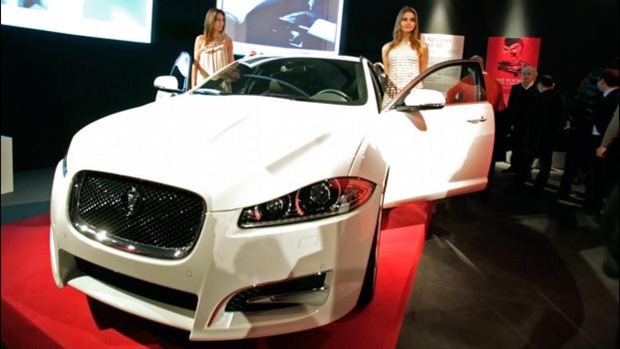 [Copertina] - Jaguar XF Sportbrake, anteprima italiana al Fuorisalone di Milano